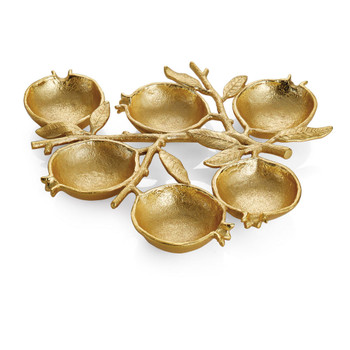Michael Aram Pomegranate 6 Compartment Plate (175255)