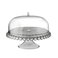 Guzzini Tiffany Cake Stand w/ Dome - Grey (19940092)