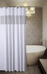 Quilted Mirror Shower Curtain (CQM-44324)