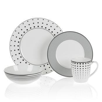 Mikasa Cheers Dinnerware Set (Service for 4) (K45072533)