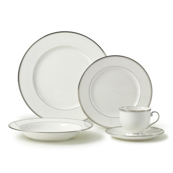 Mikasa Gothic Platinum Dinnerware Set (Service for 4) (K4AK018-705)
