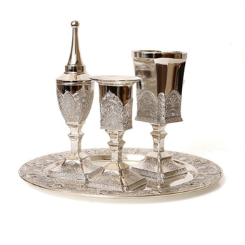 Alev to Tav Havdalah Set- Filigree (HV-X880)