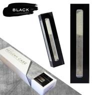 Lucite Mezuzah Case - Black (LL-LMC-B)