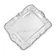 Beatriz Ball Organic Pearl Kristi Rectangular Tray with Handles