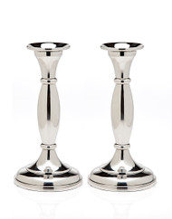 Godinger Round Base Candlesticks Set