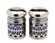 Godinger Cobalt Salt & Pepper Set