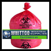 BR3339XXXHRR LLDPE Healthcare Trash Bags Inteplast Bags