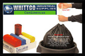 DTH4042R Draw-Tuff Institutional Draw Tape Can Liners Inteplast Bags Red