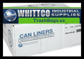 VALH4348N14 VALU-Plus HDPE Trash Bags Inteplast Can Liners Natural