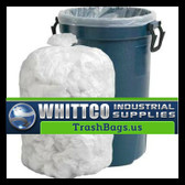 S386016N HDPE lnstitutional Trash Can Liners Inteplast Bags Natural
