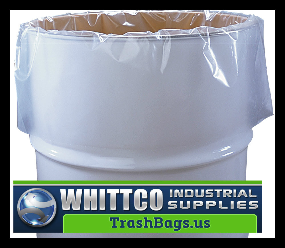 55 Gallon Drum Liners Clear : Drum liners clear mil husky compare