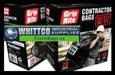 Contractor bags 42 Gallon 3 mil Black GRHDCBAG20