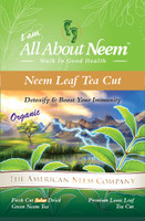 Neem Leaves - Dried Crushed Tea Quality - 1 lb
