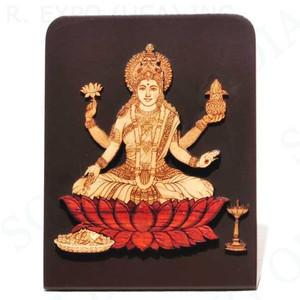 Laser Etched Laxmi with Stand 4""