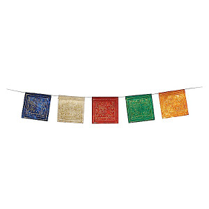 Paper prayer flag LUNG TA,  windhorse