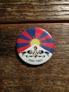 Tibetan National Flag magnet
