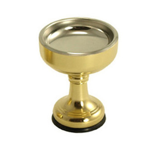 brass offering pedestal