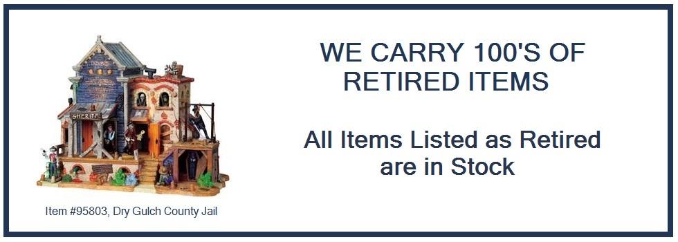 Over 900 Retired SKUs in Stock!