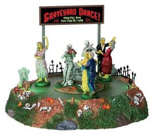 34601 - Graveyard Dance, Battery-Operated (4.5v)  - Lemax Spooky Town Halloween Village Accessories