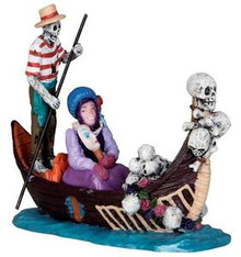 32116 - Gondola  - Lemax Spooky Town Halloween Village Figurines