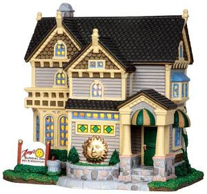 35563 - Amy's Sundial Inn  - Lemax Caddington Village Christmas Houses & Buildings