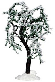34654 - Snowy Ash Tree - Lemax Christmas Village Trees