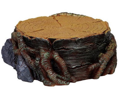 74699 -  Tree Stump Display Platform - Small - Lemax Christmas Village Landscape Items