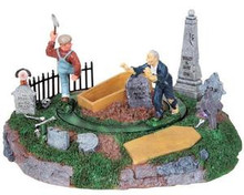 84741 -  Grave Robber's Surprise, Battery-Operated (4.5-Volt) - Lemax Spooky Town Halloween Village Accessories