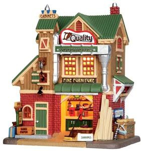 35528 - Quality Woodworks  - Lemax Harvest Crossing Christmas Houses & Buildings