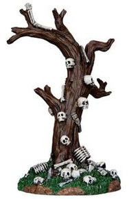 33003 - Skeleton Tree  - Lemax Spooky Town Halloween Village Accessories