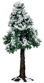 34652 - Winter Redwood Tree - Lemax Christmas Village Trees