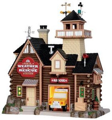35571 - Vail Weather & Rescue Station  - Lemax Vail Village Christmas Houses & Buildings