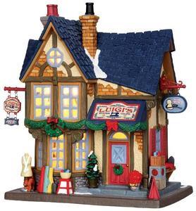 35543 - Luigi's Custom Tailor  - Lemax Caddington Village Christmas Houses & Buildings