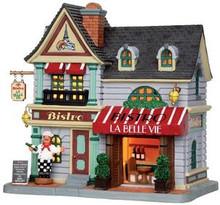 35582 - La Belle Vie Bistro  - Lemax Caddington Village Christmas Houses & Buildings