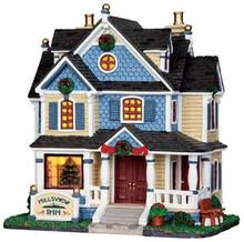 35568 - Hillsview Inn  - Lemax Caddington Village Christmas Houses & Buildings