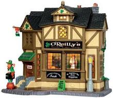 35546 - O'Reilly's Irish Gift Shop  - Lemax Caddington Village Christmas Houses & Buildings