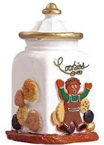 52078 - Cookie Jar - Lemax Sugar N Spice Figurines
