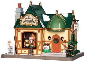 35509 - Kringel's European Bakery  - Lemax Caddington Village Christmas Houses & Buildings