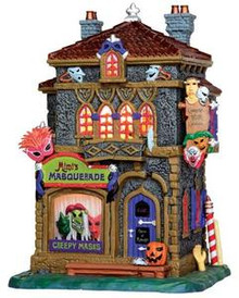35497 - Mimi's Masquerade  - Lemax Spooky Town Halloween Village Houses & Buildings