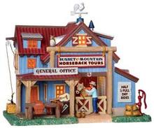 25347 - Sunset Mt. Horseback Tours  - Lemax Vail Village Christmas Houses & Buildings