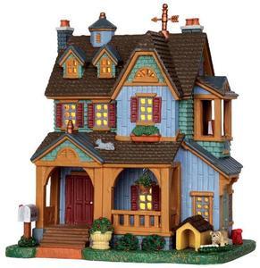35510 - McGrath Residence  - Lemax Harvest Crossing Christmas Houses & Buildings