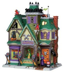 25331 - Pets & Potions  - Lemax Spooky Town Halloween Village Houses & Buildings