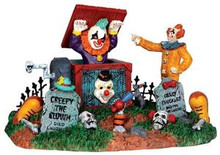 33021 - Jack in the Box  - Lemax Spooky Town Halloween Village Accessories