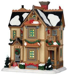 35511 - Home For Christmas Residence  - Lemax Caddington Village Christmas Houses & Buildings