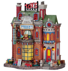 75539 -  Brock's Toys, with Adaptor - Lemax Caddington Village Christmas Houses & Buildings