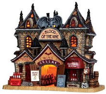 35500 - Blood of the Vine  - Lemax Spooky Town Halloween Village Houses & Buildings
