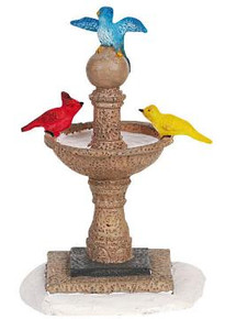 64469 -  Village Birdbath - Lemax Christmas Village Misc. Accessories