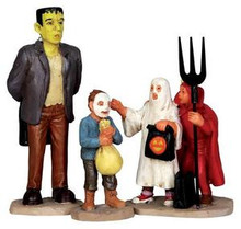 "32128 - ""Is That Really…?"", Set of 3  - Lemax Spooky Town Halloween Village Figurines"