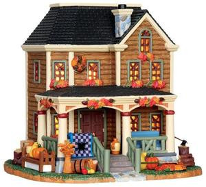 35501 - Fall Residence House  - Lemax Harvest Crossing Christmas Houses & Buildings