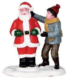 32127 - Front Yard Santa  - Lemax Christmas Village Figurines